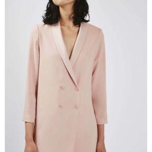 Topshop Pink Blush Blazer
